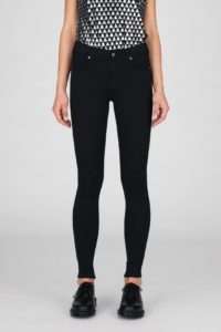 Dr Denim Lexy Jeans in Organic Core Black
