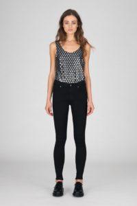 Dr Denim Lexy Jeans in Organic Core Black
