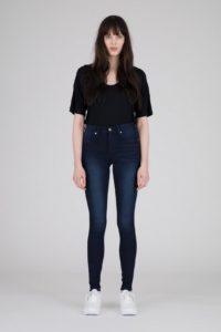 Dr Denim Plenty Jeans in Deep Blue Wash