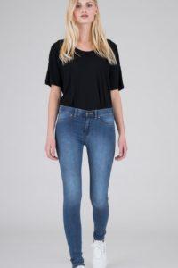 Dr Denim Plenty Jeans in Worn Mid Blue