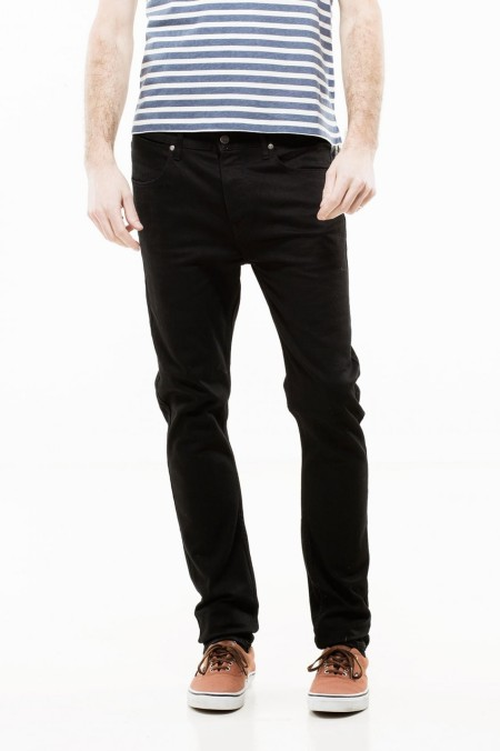 Dr Denim Steve Jeans Solid Black