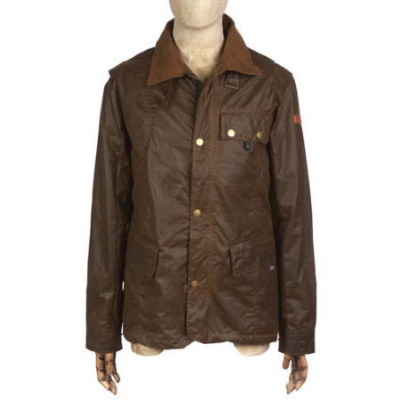 Peregrine Bexley Waxed Jacket Brown