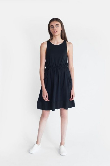 Beaumont Organic Logan Dress Black