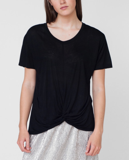 Beaumont Organic Megan Top Black