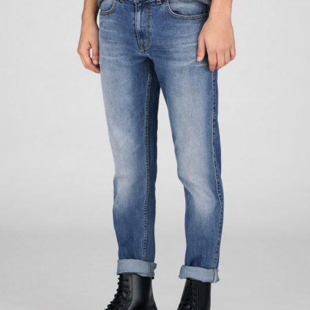 Dr Denim Clark Jeans in In Worn Mid Blue