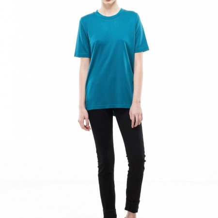 Dr Denim Fiona Tee in Ink Blue
