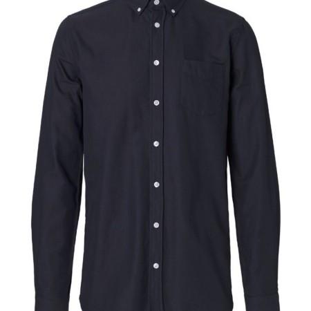Libertine-Libertine Hunter Award Shirt Peacoat Asphalt