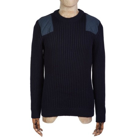 Peregrine Cactus Woolly Pully in Navy