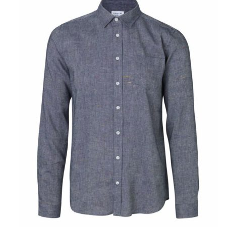 Libertine-Libertine Lynch Moth Shirt in Blue