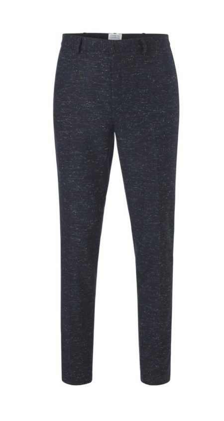 Libertine-Libertine Transworld Palace Trouser in Midnight Navy