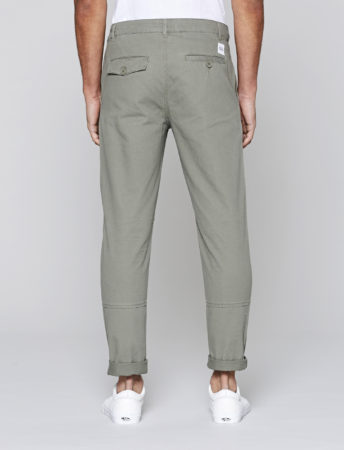 Native Youth Anderby Military Trouser in Olive