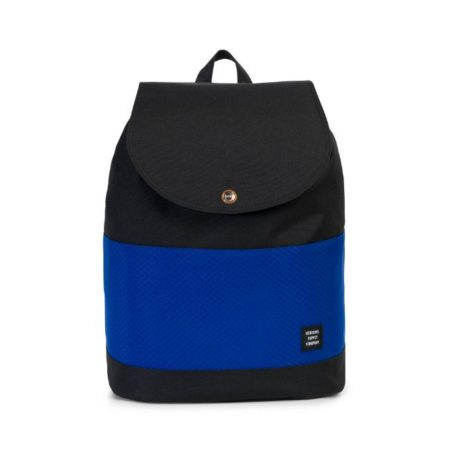 Herschel Supply Co Reid Backpack in Black/Surf The Web