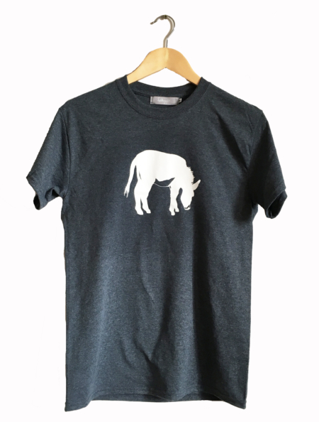 FishboyPZ Men's Donkey Tee in Dark Heather.