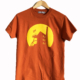 Fishboy PZ Engine House Men's Tee in Texas Orange.