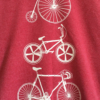 Fishboy PZ Tricycle Men's Tee in Red Heather.