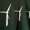 Fishboy PZ Wind Turbine Men's Tee in Forest Green.