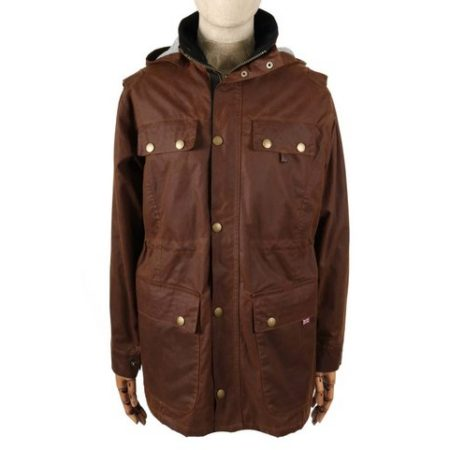 Peregrine Bilton Jacket in Brown
