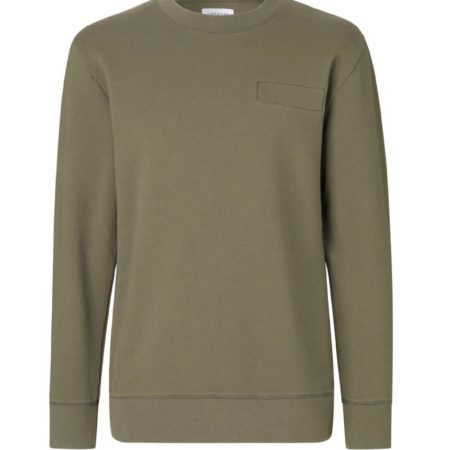 Libertine-Libertine East Reason O-Neck in Olive
