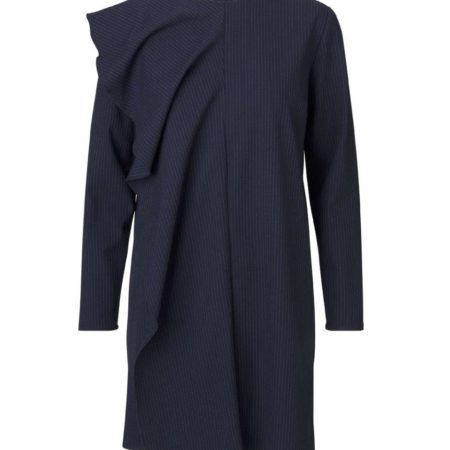 Libertine-Libertine Essens Neet Dress in Peacoat Stripe