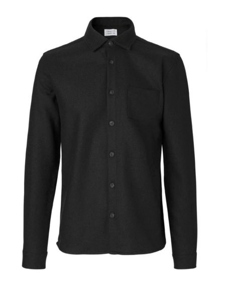 Libertine-Libertine Miracle Bow Overshirt in Black