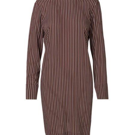 Libertine-Libertine Soft Enough Dress in Wine Stripe