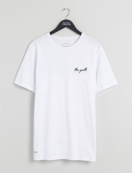 Native Youth The Youth Tee in White
