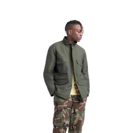 Herschel Supply Co. Field Jacket in Dark Olive