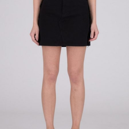 Dr Denim Adiam Denim Skirt in Black