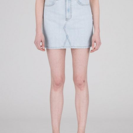 Dr Denim Adiam Denim Skirt in Superlight