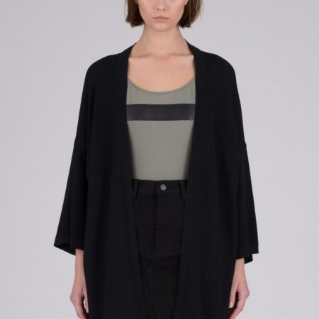 Dr Denim Kira Cardigan in Black