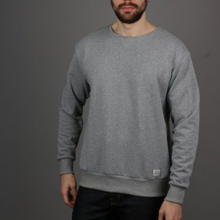 Peregrine Milton Sweatshirt in Grey Marl