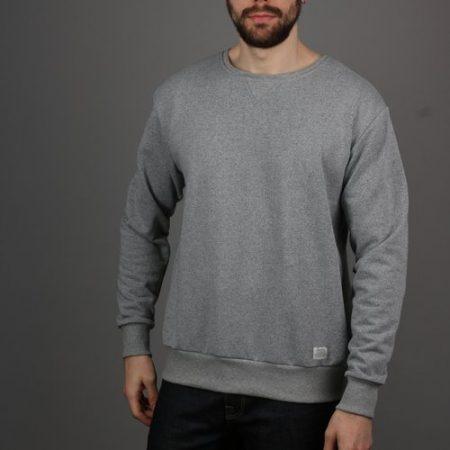 PeregrineMilton Sweatshirt in Grey Marl