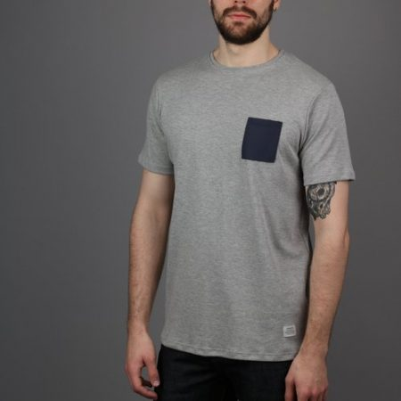 Peregrine Worthington Tee in Grey