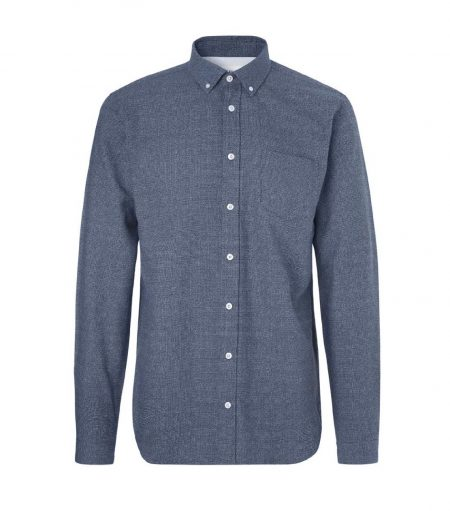 Libertine-Libertine Hunter Dorian Shirt in Blue Nep