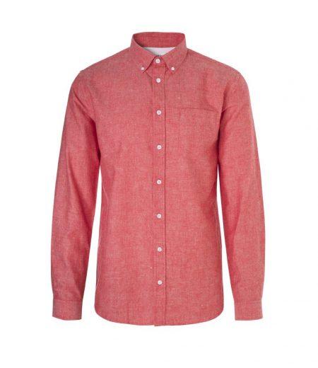 Libertine-Libertine Hunter Reveal Shirt in Chinese Red