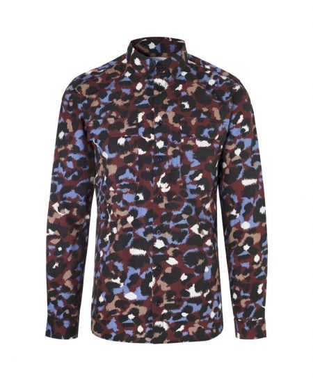 Libertine-Libertine Nation Hail Shirt in Leo Wine