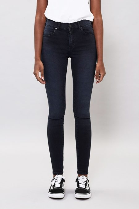Dr Denim Lexy Jeans in Pitch Dark Blue