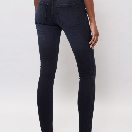 Dr Denim Lexy Jeans in Pitch Dark Blue
