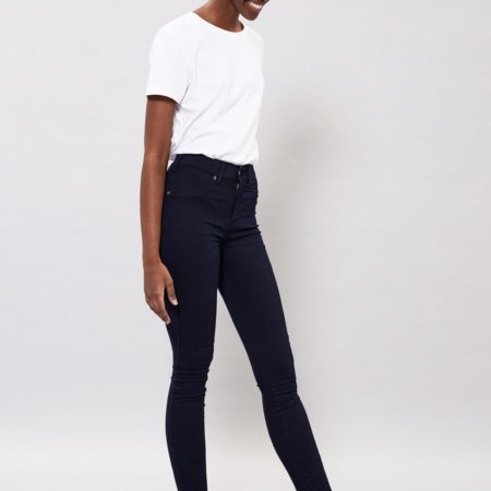 Dr Denim Plenty Jeans in Darkest Blue