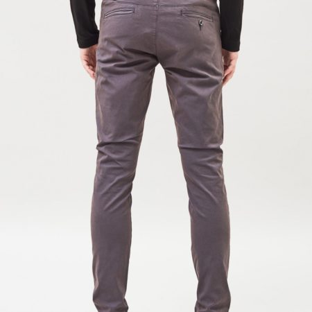 Dr Denim Heywood Chino in Worn Dark Grey