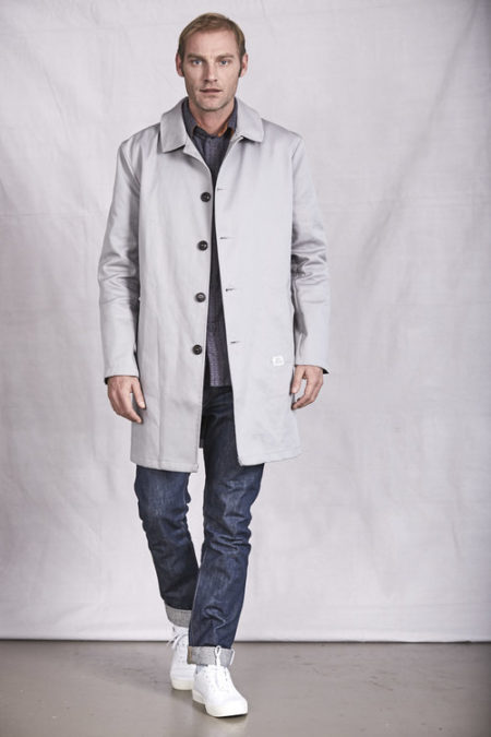 Peregrine Carlyle Mac in Sports Grey