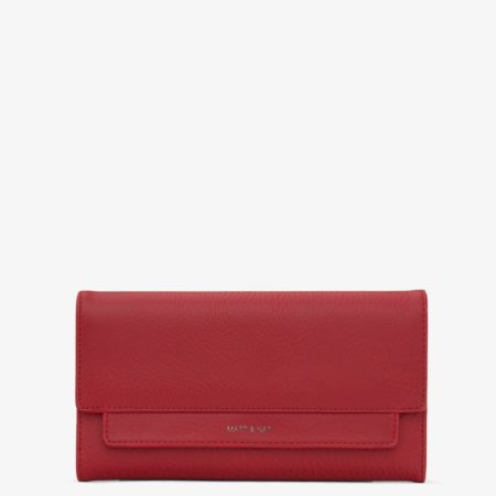 Matt & Nat Ilda Dwell Wallet in Red