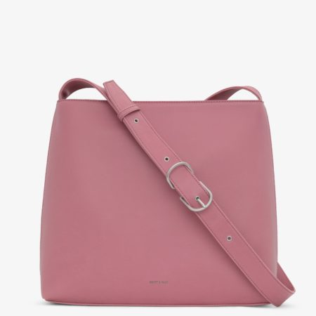 Matt & Nat Minty Vintage Crossbody Bag in Berry