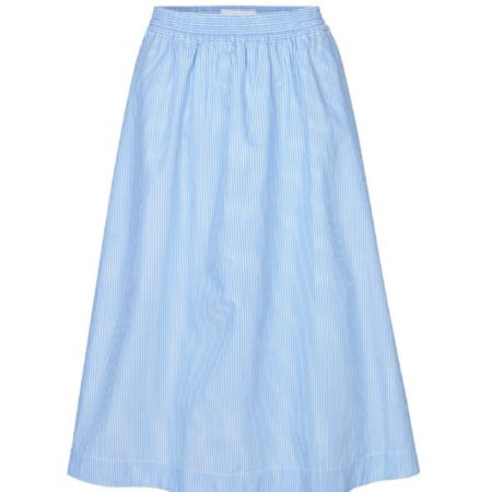Libertine-Libertine Global Free Skirt in Blue Stripe