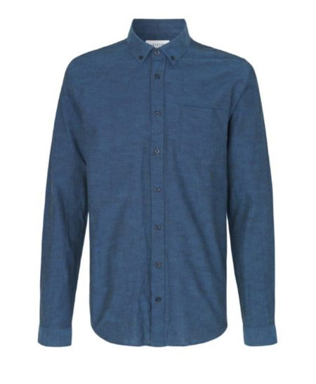 Libertine-Libertine Hunter Seven Shirt in Royal Blue