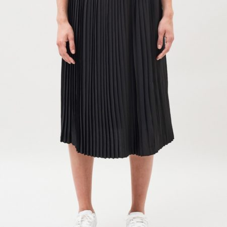 Dr Denim Kambria Midi Skirt in Black