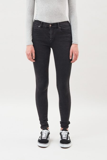 Dr Denim Lexy Jeans in Old Black