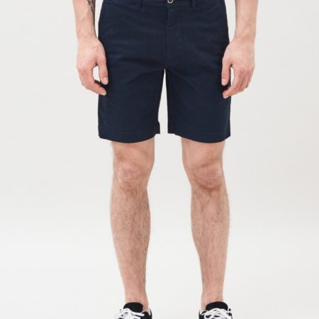 Dr Denim Wood Shorts in Deep Blue