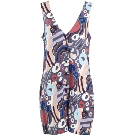Native Youth Nostalgia Playsuit
