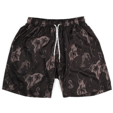 The Dudes Palms & Snakes Swim Shorts